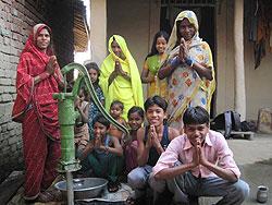 [ネパール]井戸ポンプの設置