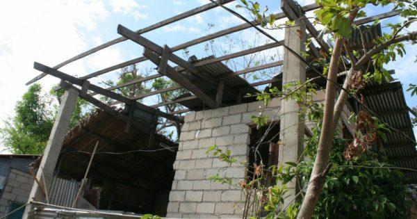 フィリピン クリオン島の復興活動状況~家屋修繕計画