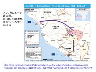 ふたつの感染症 ハンセン病とエボラ出血熱