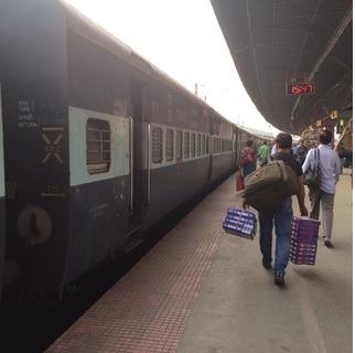 インド大陸列車の旅