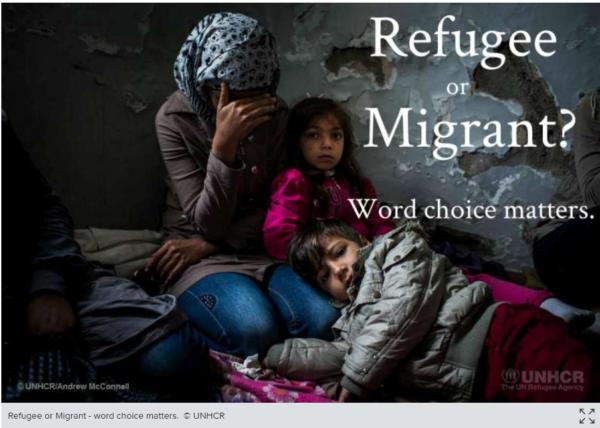 ヨーロッパを目指す人々の悲劇