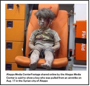 二人のシリア少年
