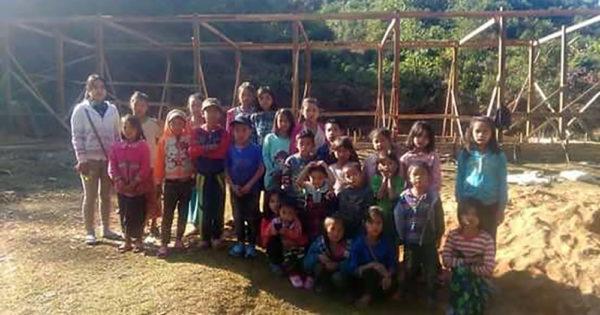 ハンセン病定着村における環境改善 ミャンマーより