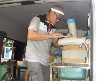HANDA!その4~巡回義肢製作活動: Sian村より~