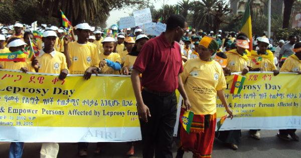 エチオピアで啓発活動が行われました