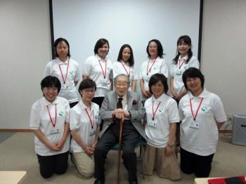 日野原先生の講義