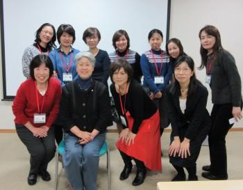 2015年最終講義の講師を日本看護協会坂本すが会長が務めてくださいました。