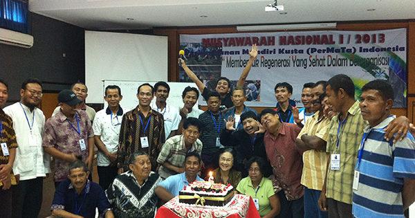 インドネシアの回復者組織PerMaTa 6周年