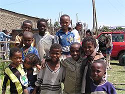 [エチオピア]アワサ市定着村経済自立支援プロジェクト