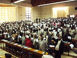 [エチオピア]「世界ハンセン病の日」啓発活動
