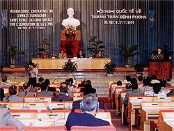 [ベトナム]第1回ハンセン病制圧国際会議開催