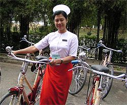 [ミャンマー]フィールド活動用自転車、オートバイ、車両、ボート供与