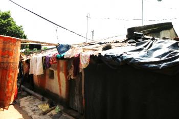 インドのハンセン病コロニーでワークキャンプが実施されています