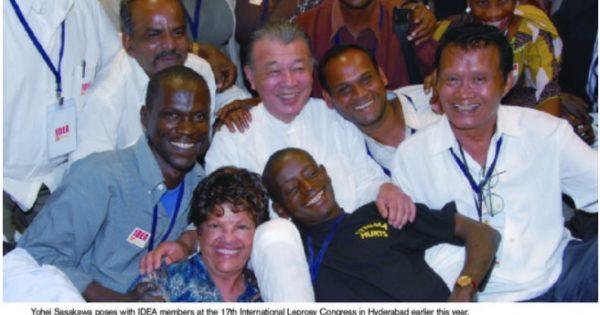 31号 大使メッセージ:ハンセン病と人権―広がる活動の輪