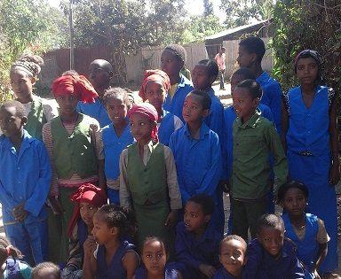 エチオピアで初等教育支援を行いました