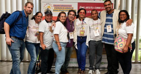 2019年3月 ブラジル開催ハンセン病回復者団体 中南米地域会合