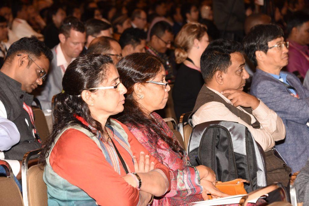 世界中から集まった「国際ハンセン病学会」の参加者達