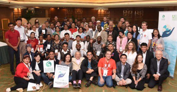 97号大使メッセージ:第20回国際ハンセン病学会に参加、ゼロ・レプロシーの実現に向けて一歩前進