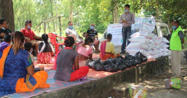 COVID-19ハンセン病コミュニティ支援 in ネパール Part 2 緊急支援物資の供給