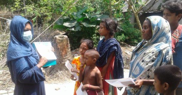 COVID-19ハンセン病コミュニティ支援 in バングラデシュ