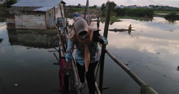 COVID-19ハンセン病コミュニティ支援 in インドネシア