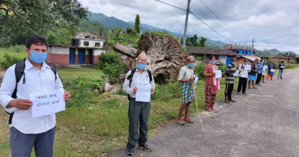 COVID-19ハンセン病コミュニティ支援 in ネパール Part 3 情報発信