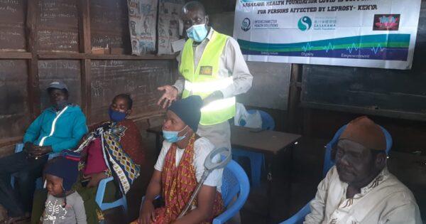 第一期 COVID-19ハンセン病コミュニティ支援活動報告:ケニア・ナイロビ