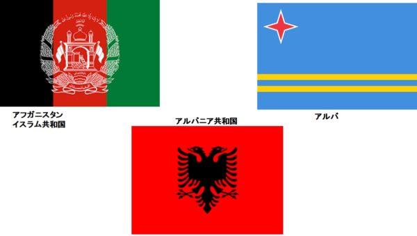 オリンピック 五十音のアの国々から